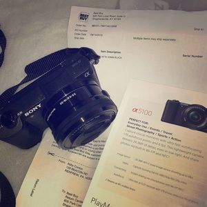 Sony a5100 model camera - gently used